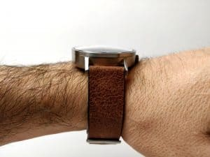 Sternglas leather strap