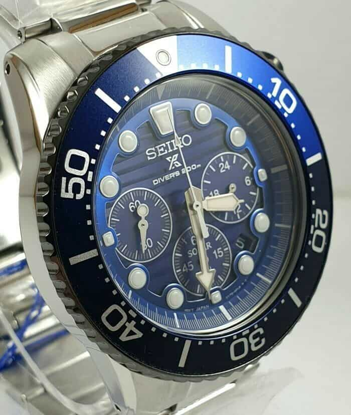 Seiko Save the Ocean Prospex Solar Chronograph