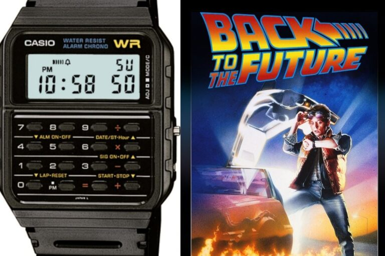 Casio Databank CA53W Twincept back to the future