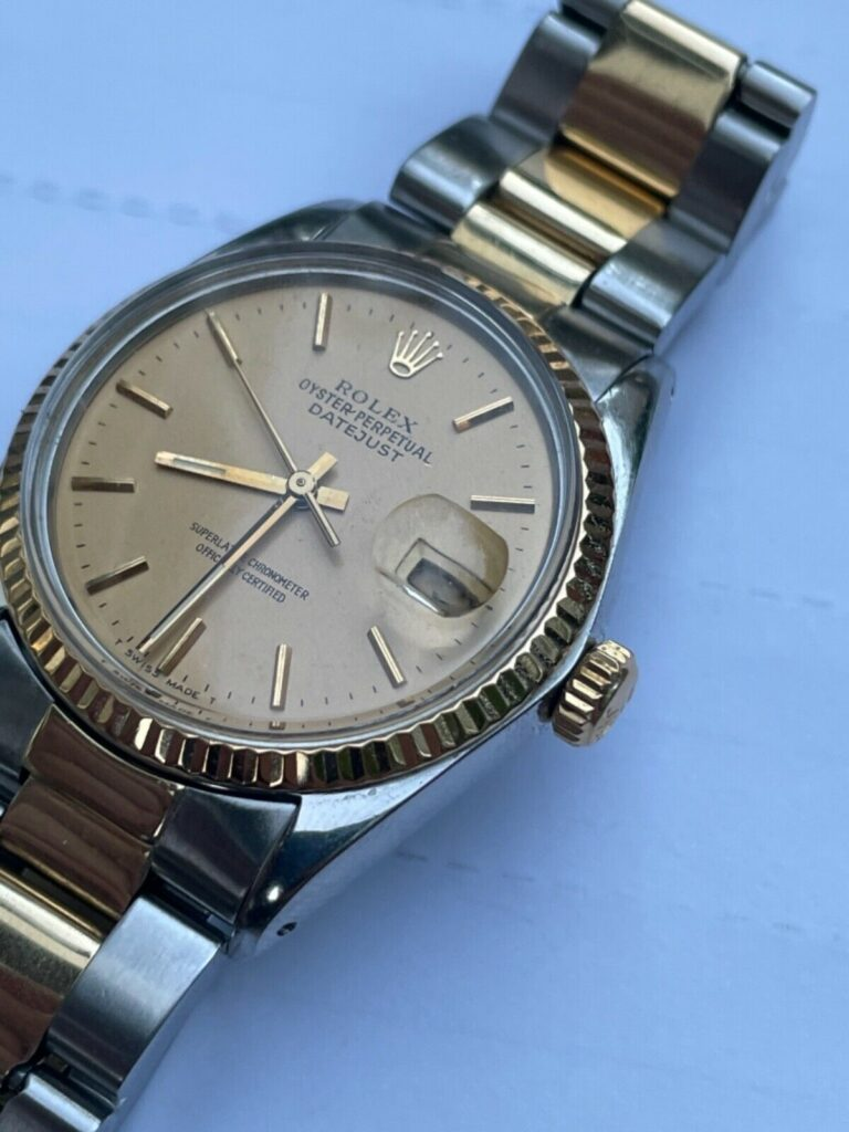 Rolex Datejust 16013 from American Psycho movie